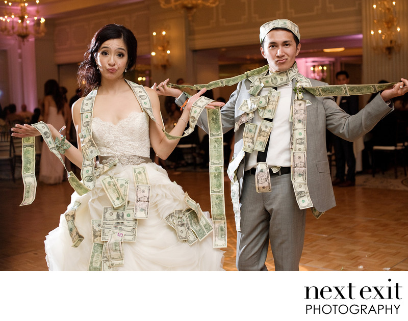 Money Dance Wedding Photography
