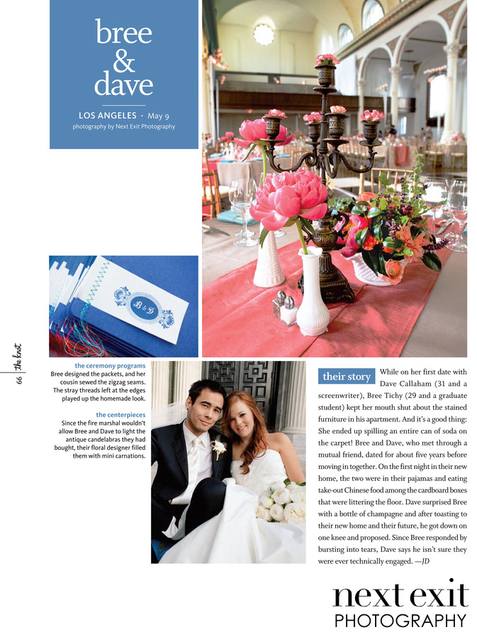 Knot Magazine Your Wedding Day Feature DIY