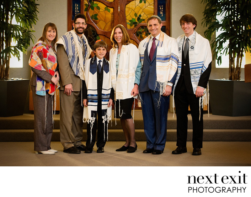 Formal Bar Mitzvah Photographer