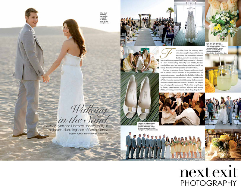 Jonathan Club C Magazine Wedding Feature