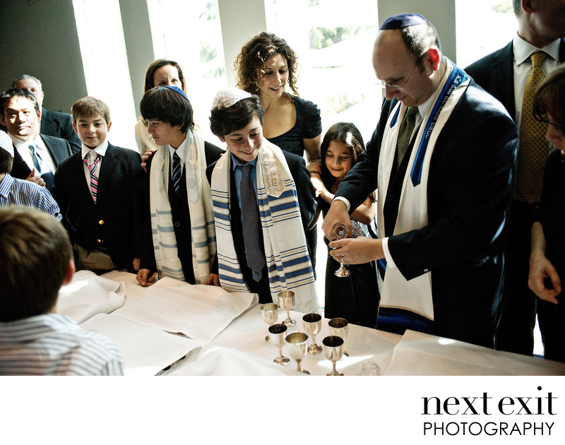 Bar Mitzvah Kiddush Ceremony Los Angeles