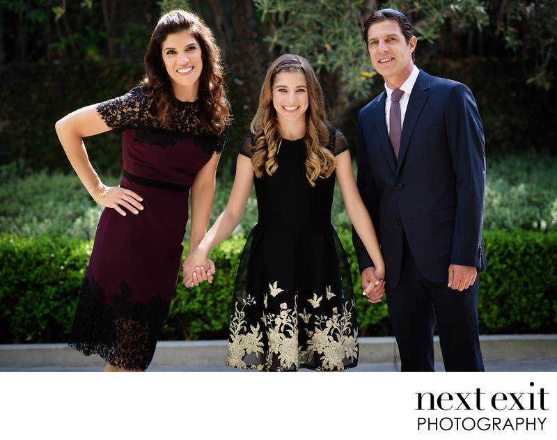 Luxe Sunset Boulevard Hotel Bat Mitzvah Photography