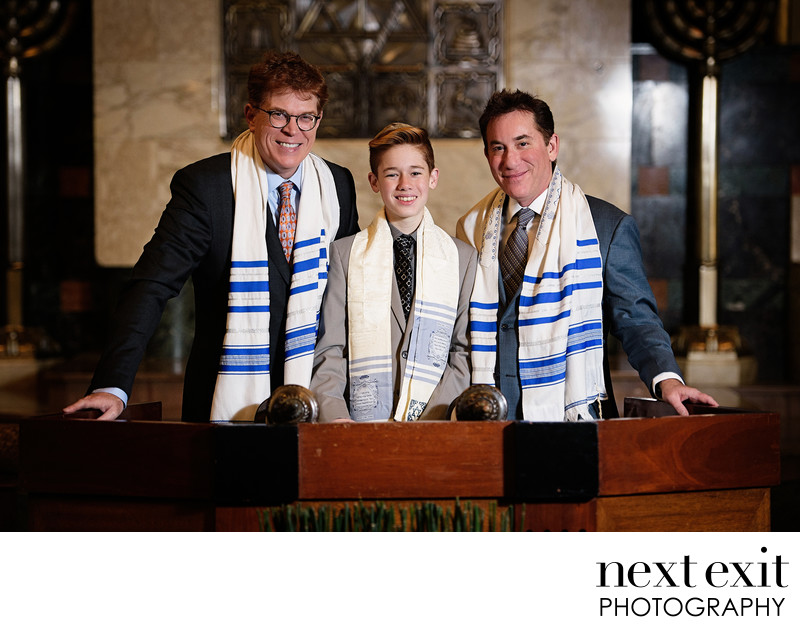 Temple Israel of Hollywood Bar Mitzvah Photography