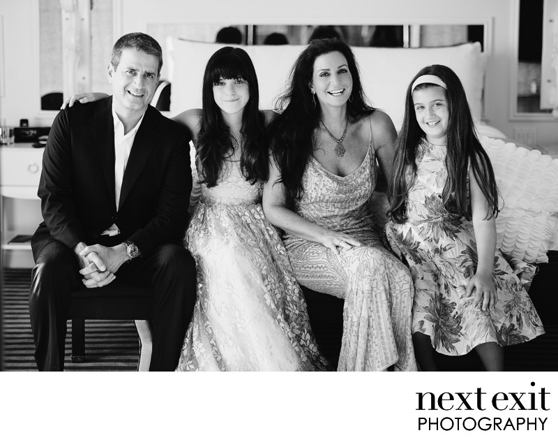 Bat Mitzvah Family Portrait Photography