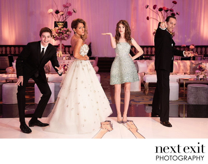 Designer Bat Mitzvah Photography Los Angeles