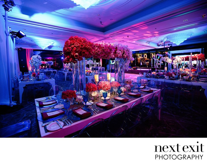 Bat Mitzvah Decor Photography