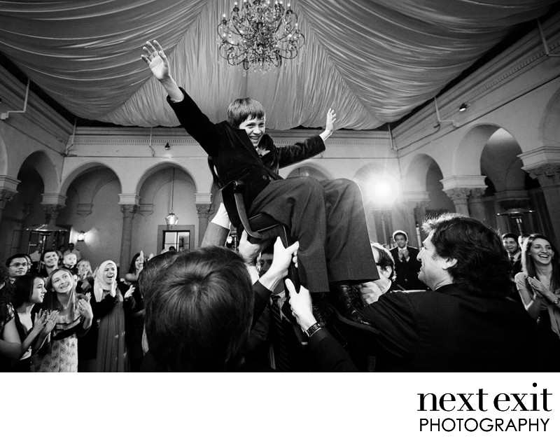 Bar Mitzvah Hora Photography