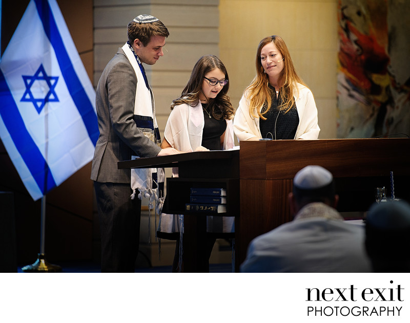 Bat Mitzvah Service Photography