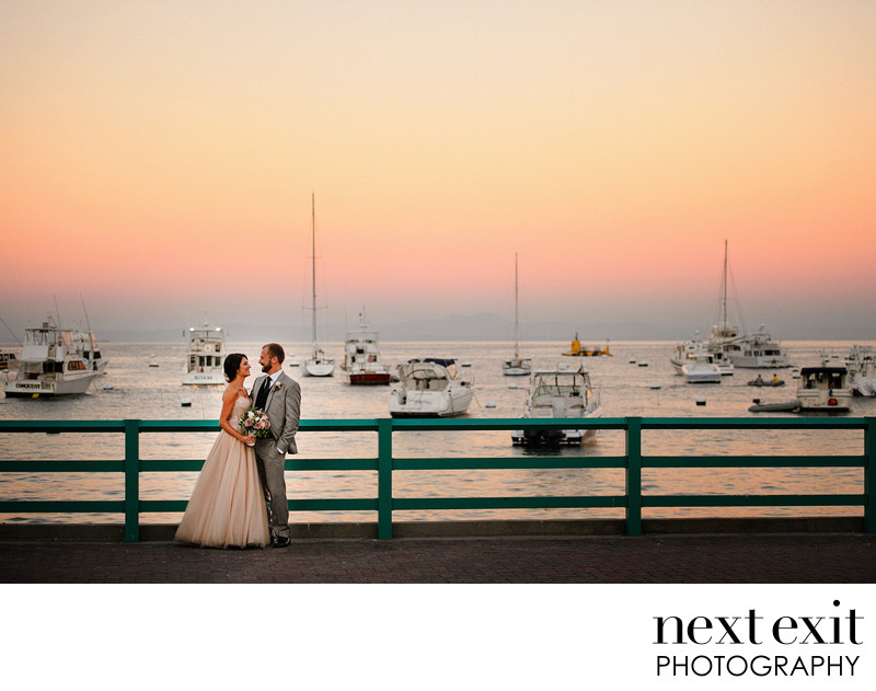 Catalina Sunset Wedding Photographer