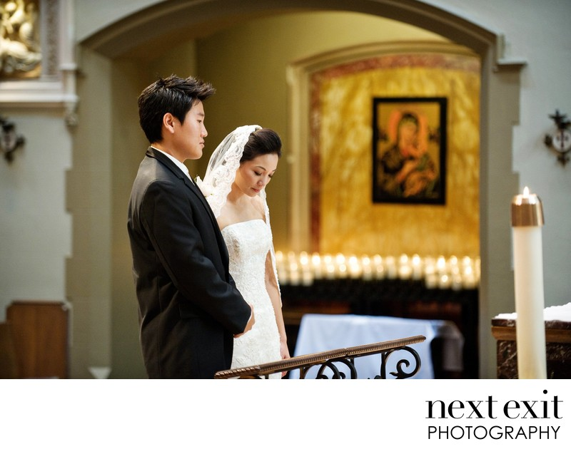 Top Catholic Wedding Photographer Los Angeles