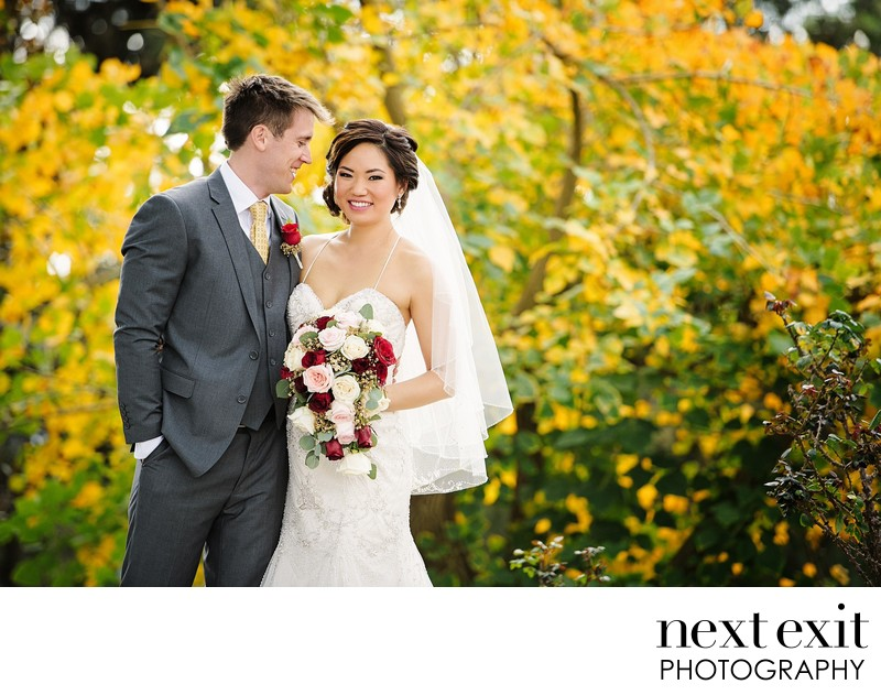 Autumn Wedding Photography Los Angeles