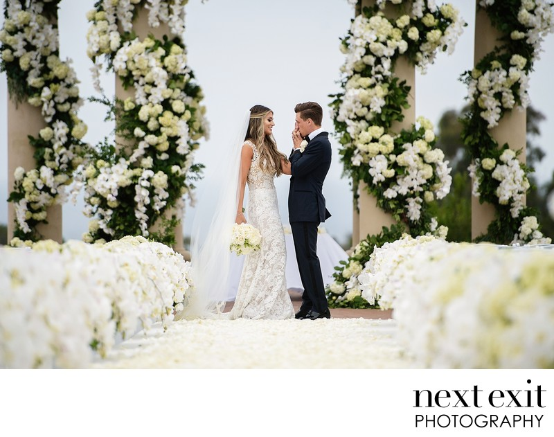 Top Resort At Pelican Hill Wedding Photographer