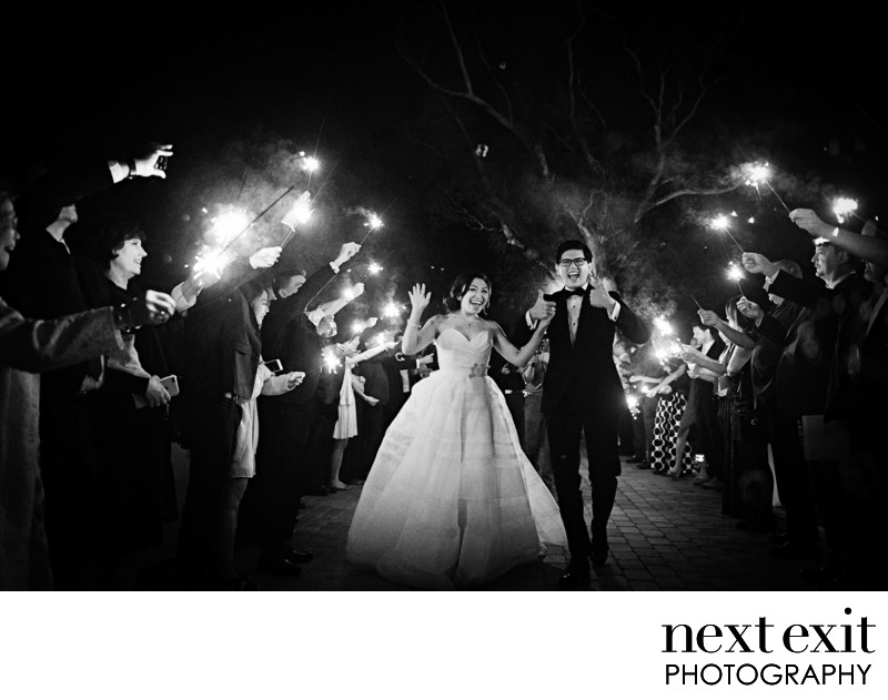 Spectacular Sparkler Exit at Hummingbird Nest Ranch