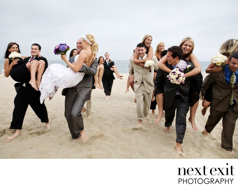 Running Bridal Party