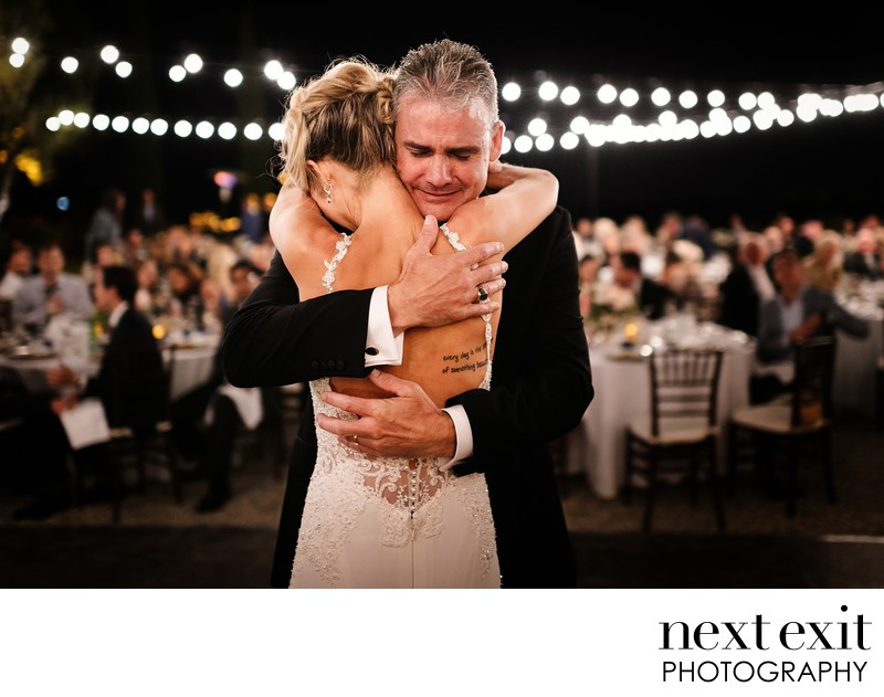 Father Daughter Wedding Dance.Father Daughter Dance Wedding Next Exit Photography Los