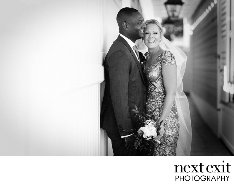 Interracial Couple Wedding Photography