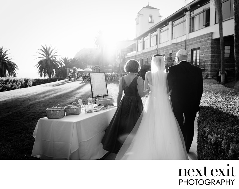 Bel-Air Bay Club Sunset Wedding Photography
