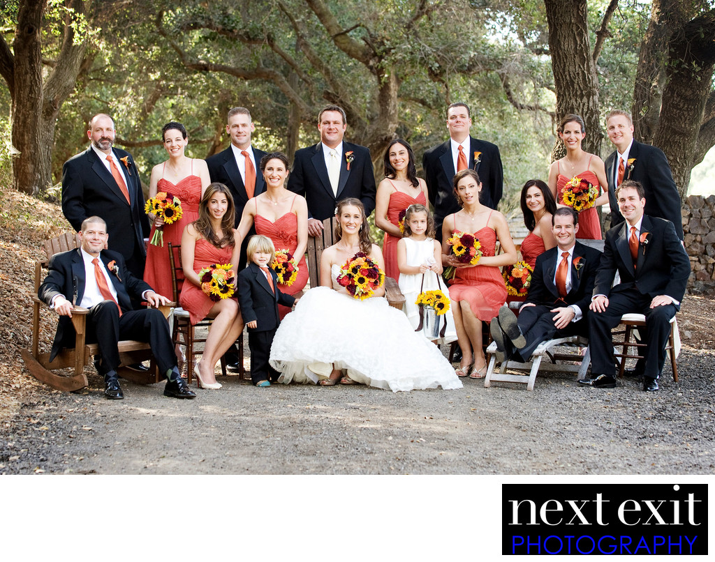 Sunflower Bridal Bouquets  - Los Angeles Wedding, Mitzvah & Portrait Photographer - Next Exit Photography