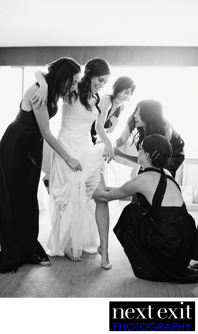 Getting Ready Wedding Photography