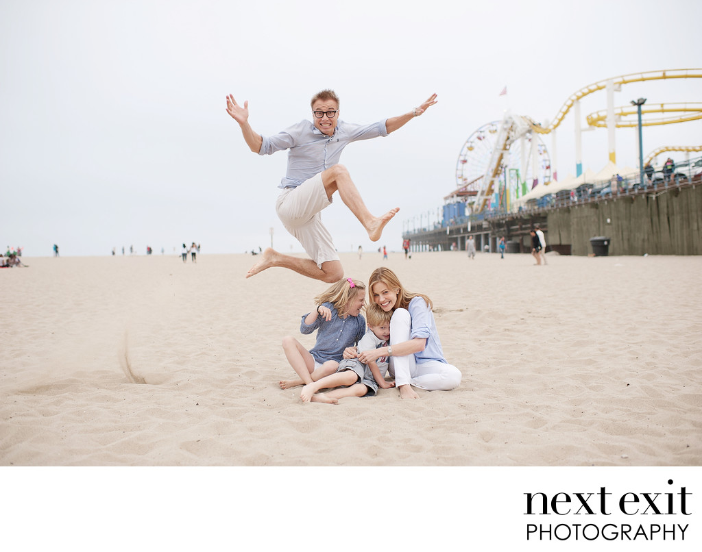 Santa Monica Family Portrait Studio