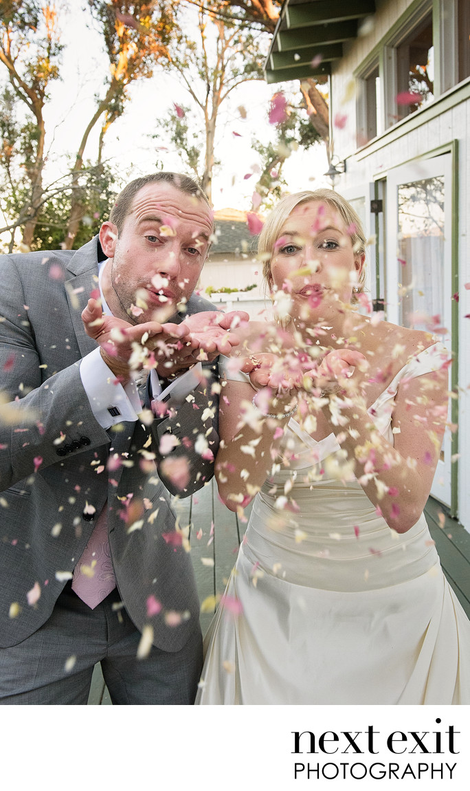 Fun Los Angeles Wedding Photographer