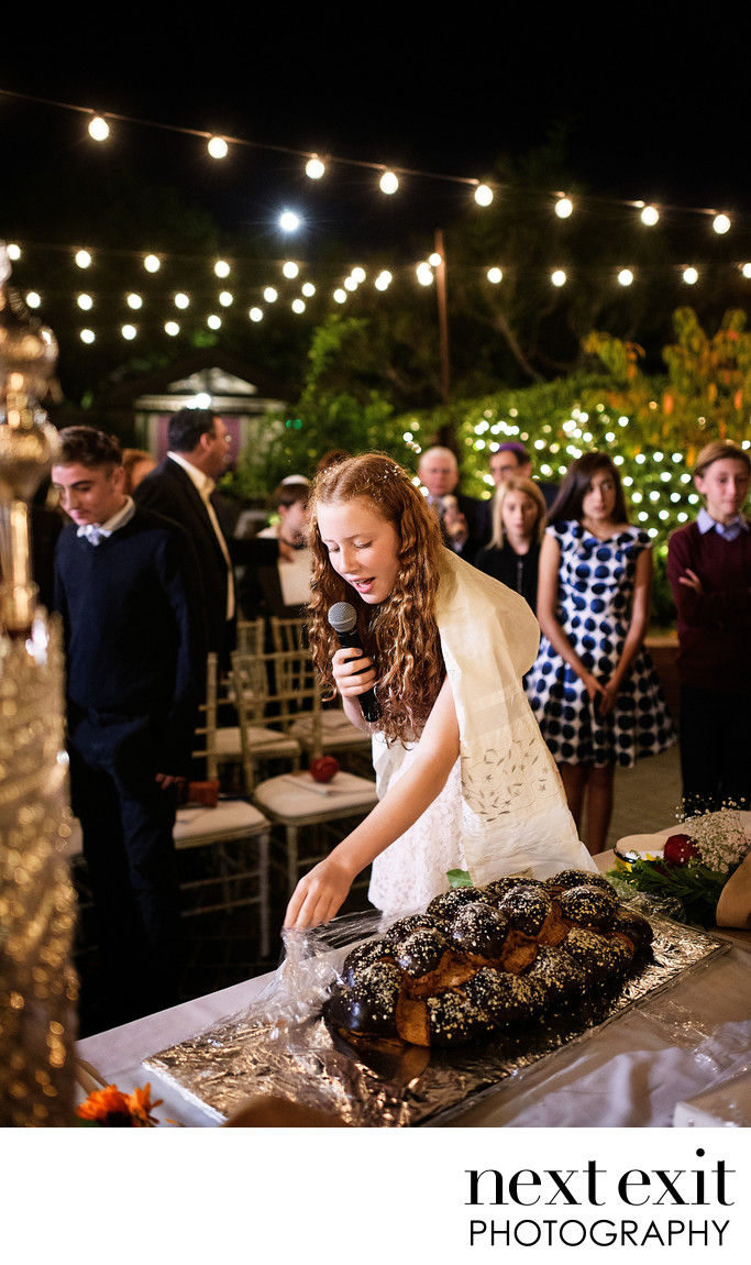 Traditional Bat Mitzvah Photographer Laguna Beach