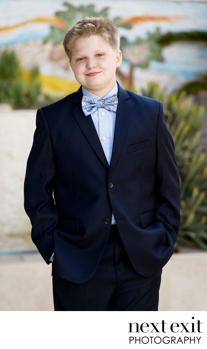 Great Bar Mitzvah Portrait Photography