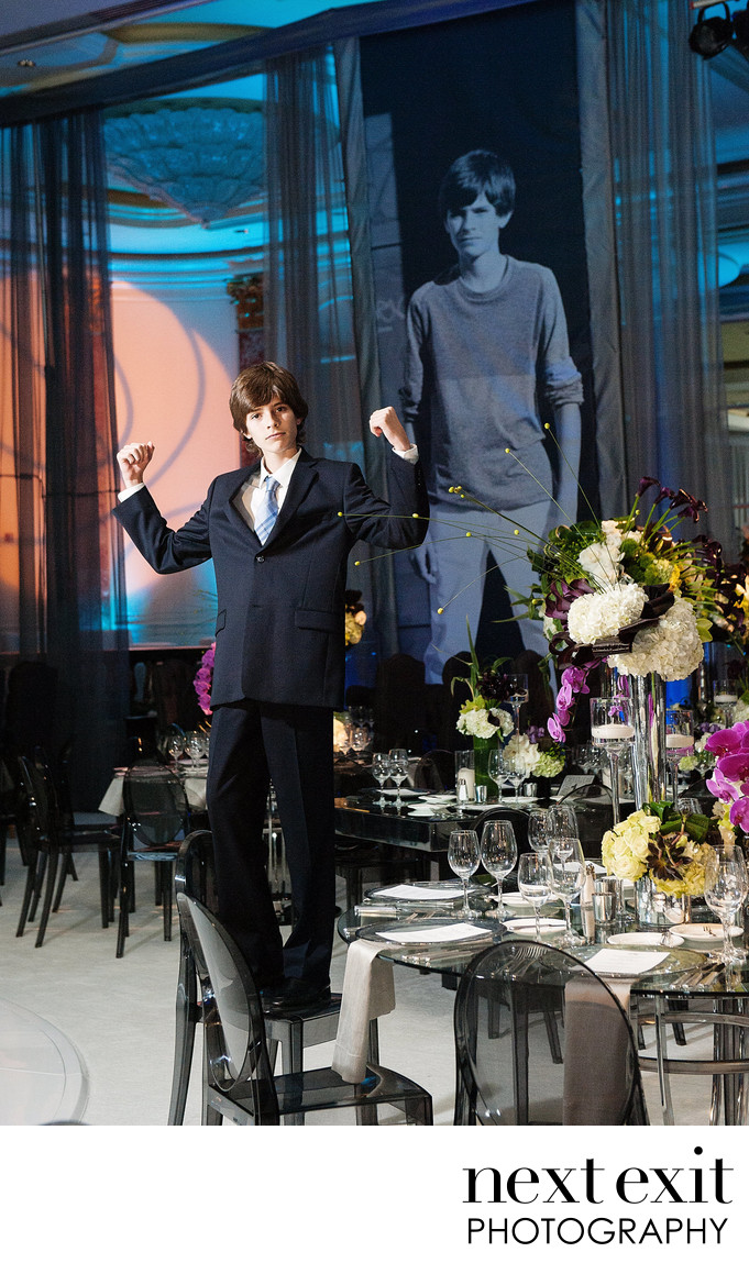 Beverly Wilshire Hotel Bar Mitzvah Photographer