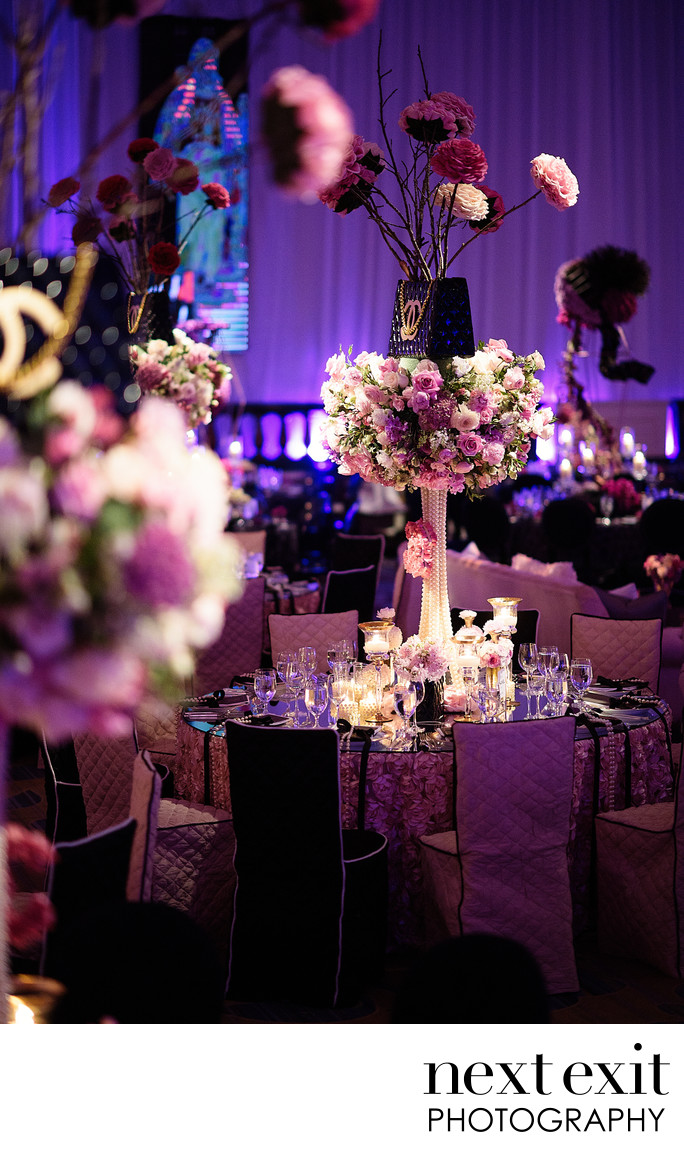 Beautiful Bat Mitzvah Decor Photography