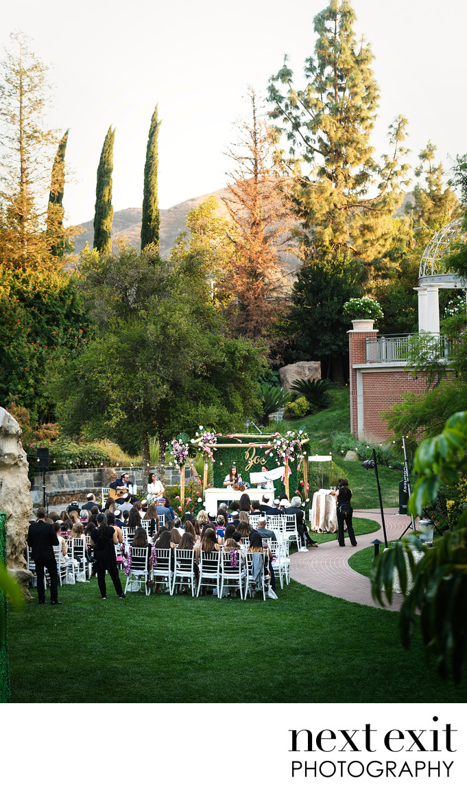 Outdoor Bat Mitzvah Photographer Westlake Village
