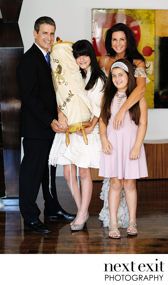 Casual Bat Mitzvah Photography Los Angeles
