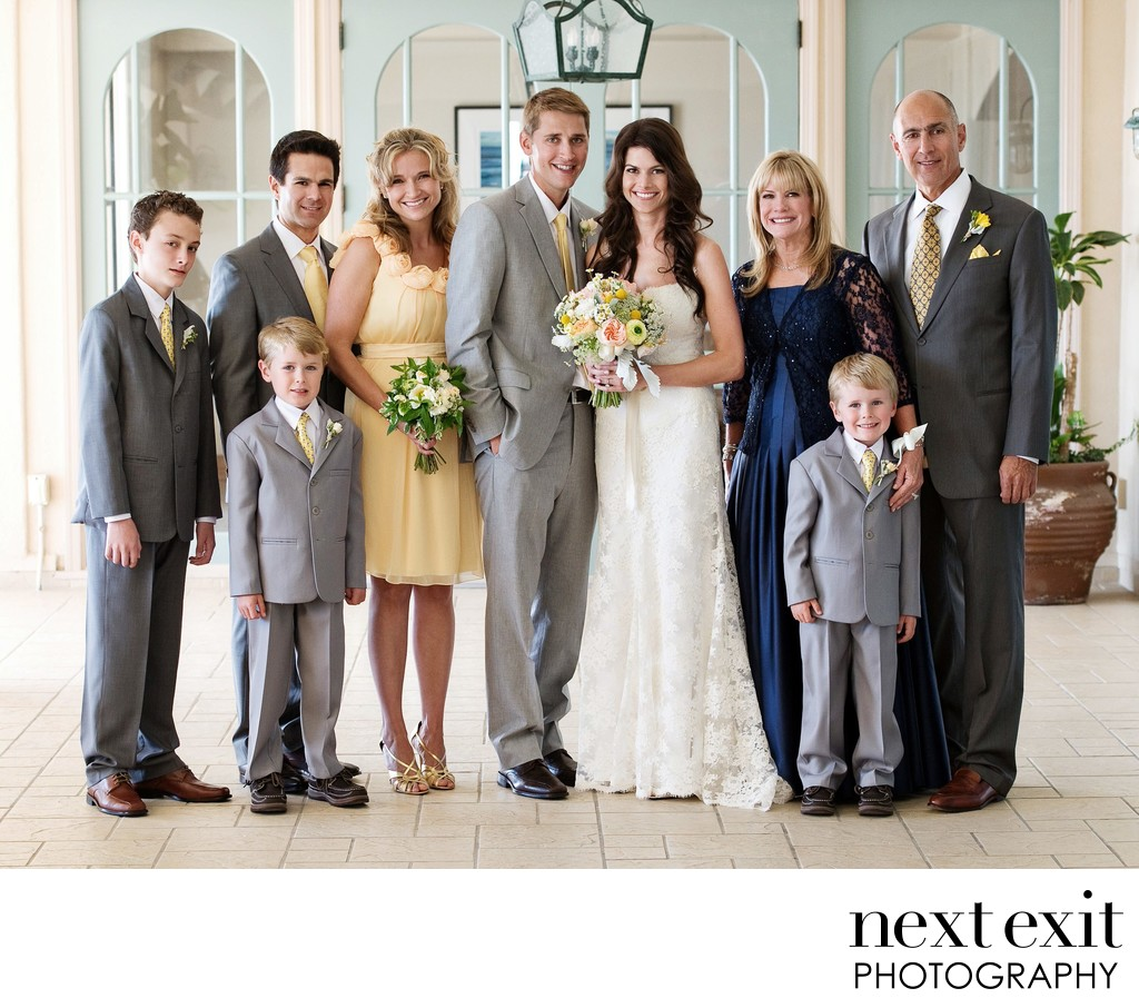 Family Formals Wedding Photographer - Los Angeles Wedding, Mitzvah & Portrait Photographer - Next Exit Photography