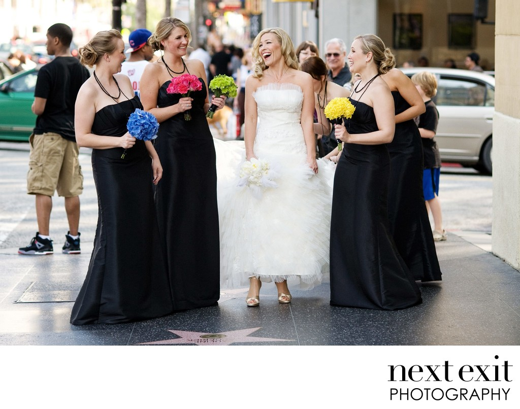 Hollywood Boulevard Wedding Photography - Los Angeles Wedding, Mitzvah & Portrait Photographer - Next Exit Photography