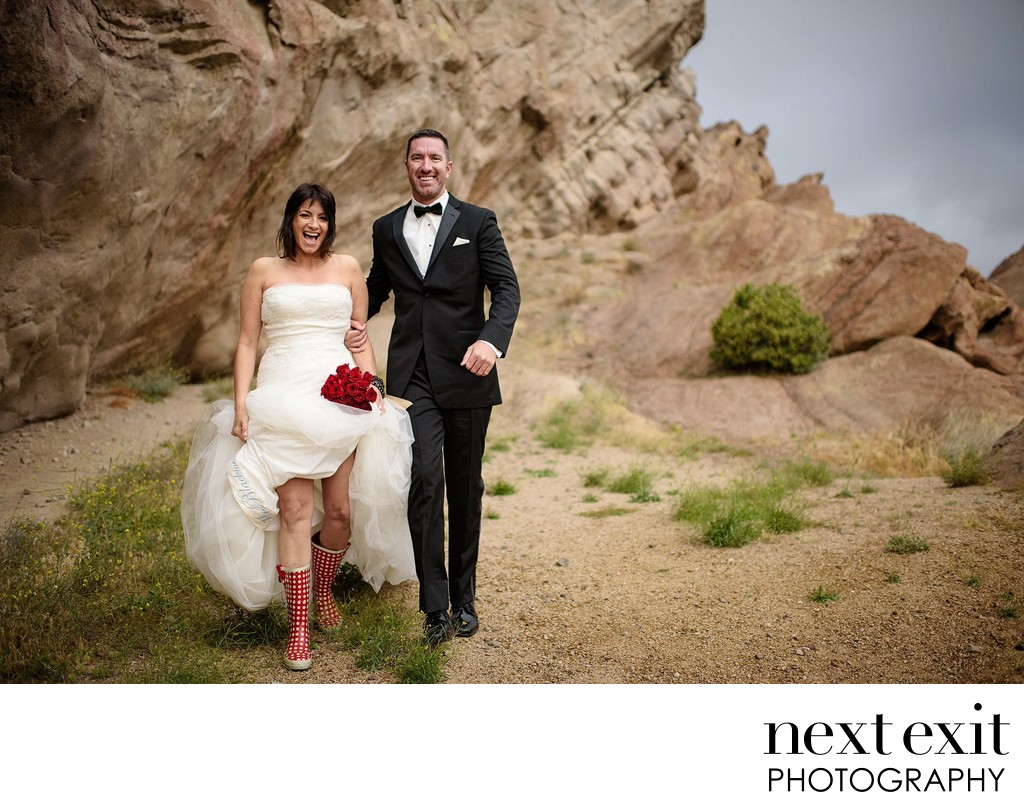 Vasquez Rocks Wedding Photographer - Los Angeles Wedding, Mitzvah & Portrait Photographer - Next Exit Photography