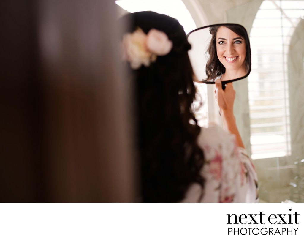 Santa Monica Bride Getting Ready - Los Angeles Wedding, Mitzvah & Portrait Photographer - Next Exit Photography