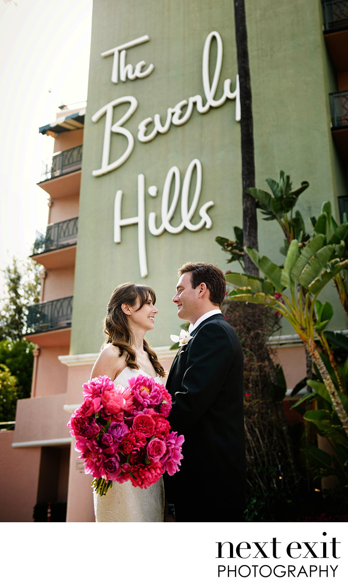 Top Beverly Hills Hotel Wedding Photographer