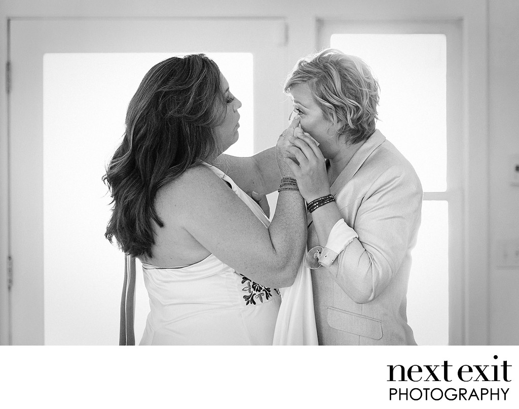 First Sight - Lesbian Wedding Photography