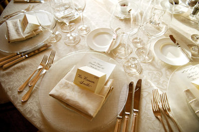 Wedding Details - Table Setting