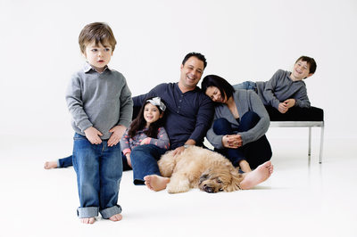 Beverly Hills Family Portrait Studio