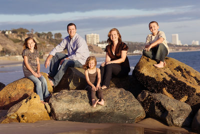 Malibu Family Portrait Session