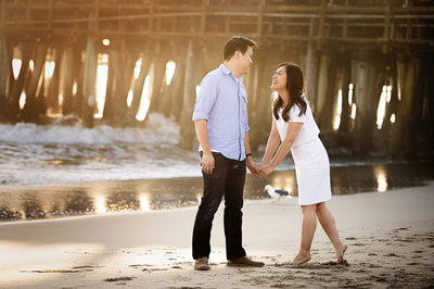 Engagement Session Photography at Santa Monica Pier