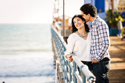 Engagement Session on the Santa Monica Pier
