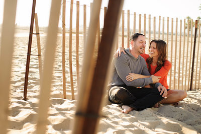 Beach Engagement Session Photography 1