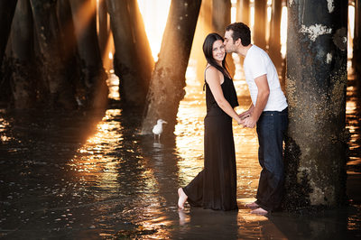 Beach Engagement Session Photographer 1