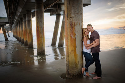 Venice Beach Engagement Session Photography
