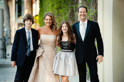 Casual Bar Mitzvah Photography Beverly Hills