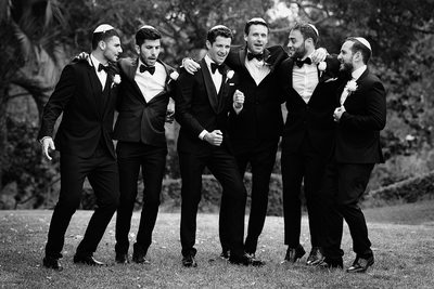 Orthodox Jewish Groomsmen - Los Angeles Wedding, Mitzvah & Portrait Photographer - Next Exit Photography