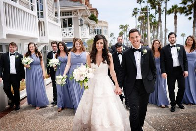 Shutters on the Beach Bridal Party Boardwalk  - Los Angeles Wedding, Mitzvah & Portrait Photographer - Next Exit Photography