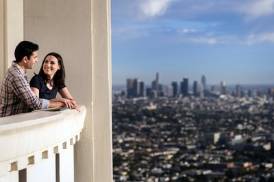 Griffith Observatory Engagement Session Photographer