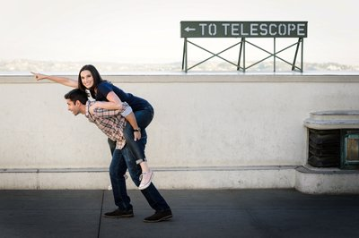 Griffith Park Engagement Session Photography